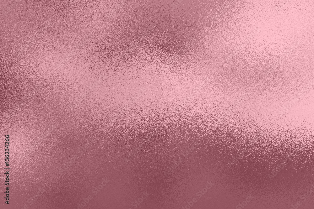 Fototapety, obrazy: Pink foil background, metal texture