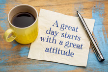 A Great Day Starts With A Good...