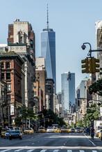 New York City Taxi Streets USA...