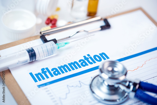 Fotografie, Obraz  Medical Concept: inflammation