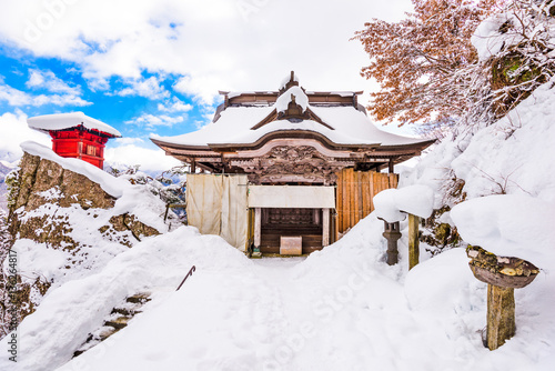 Wall Murals Temple Mountain Temple Japan