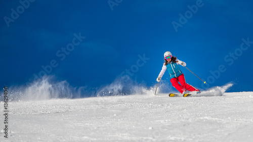 Fotografía  Woman Girl   Female On the Ski