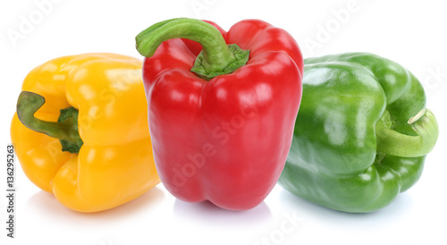 Fotografija Paprika Paprikas bunt Gemüse Lebensmittel Freisteller freigeste