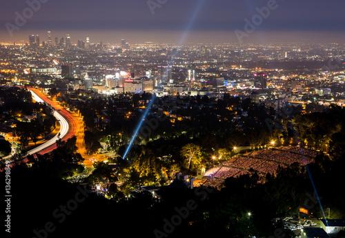Photo  View Over LA