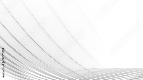 Fotografia, Obraz  abstract white background - high resolution digital backdrop