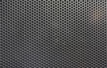 Steel Grating Of Loudspeaker ,full Frame Black Grid Of A Speaker Texture