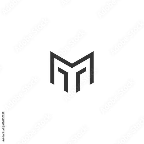 Fototapeta MT Logo Monogram