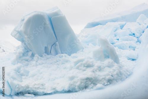 Antarctic Glacial Icebergs