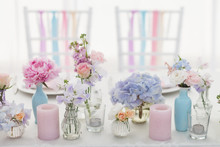 Flower Decorations For Holidays And Wedding Dinner