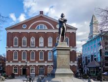 Faneuil Hall - Boston, Massachusetts, USA