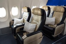 Airplane Business Class Cabin