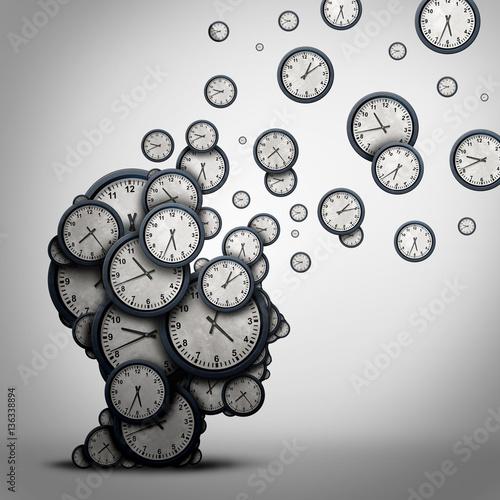 Planning Time Concept Tablou Canvas