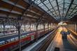 Lübecker Hauptbahnhof in der Abendstunde