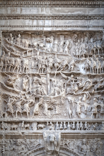 Rome Arch of Titus Relief Wallpaper Mural