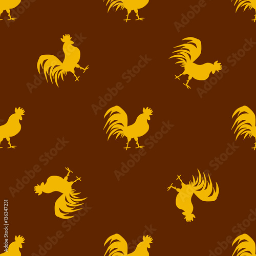 seamless-pattern-with-golden-roosters-on