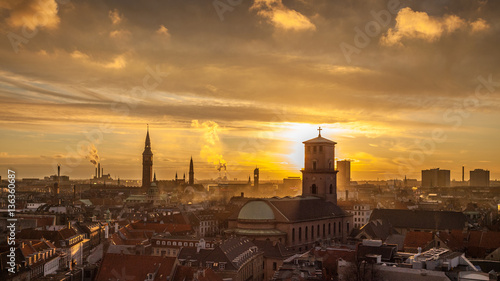 Photo  Copenhagen - the capital and most populous city of Denmark