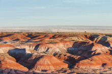 Colorful Sandstone Of Painted ...