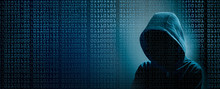 The Dark Web  Hooded Hacker Ba...