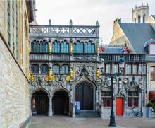 Holy Blood Basilica In Bruges, Belgium