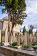 Eyup Sultan cemetery in Istanbul, Turkey