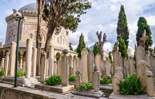 Eyup Sultan Cemetery In Istanb...