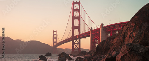 Fotomural Golden Gate Bridge of San Francisco