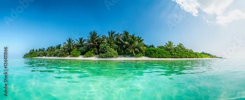 Staande foto Eiland Thoddoo island panorama