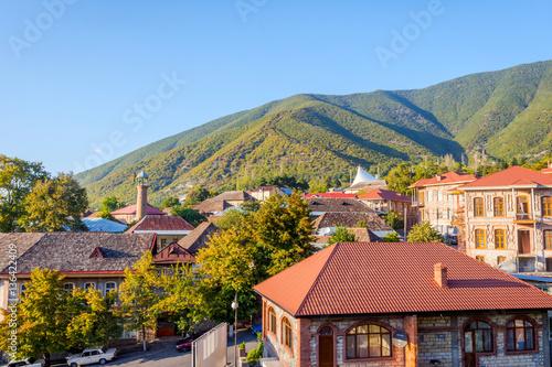 Sheki town, Azerbaijan Canvas Print