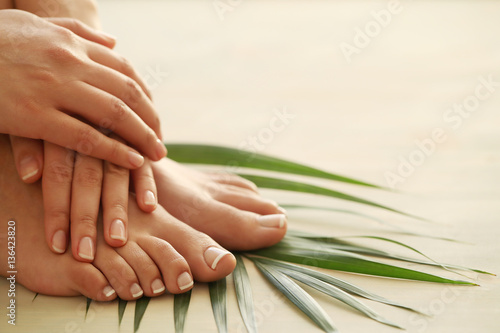 Poster Pedicure Skin care
