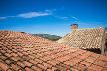 Mediterranean Roofs With Red T...