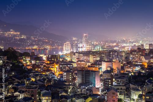 Poster Turquie 長崎の夜景