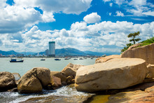 Landscapes On Hon Do Island In The Sea Near Nha Trang City, Vietnam