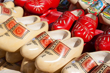Dutch Wooden Clogs For Sale