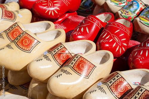 Fotografía  Dutch wooden clogs for sale