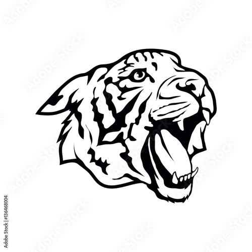Fototapety, obrazy: Tiger logo