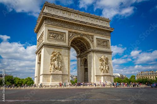 Arc De Triomphe Canvas-taulu