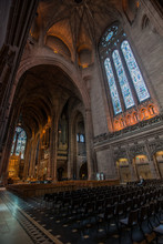 Liverpool Anglican Cathedral, Liverpool, England.