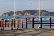 Puerto Lopez Dock, Ecuador