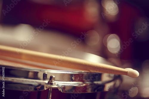 Drums conceptual image Canvas Print