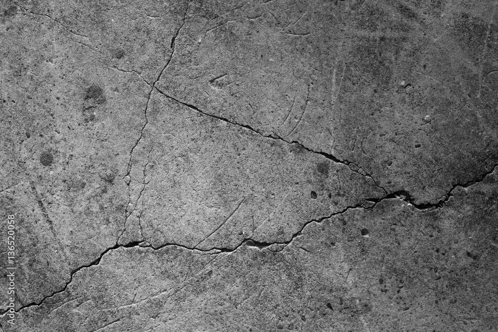 Fototapeta Crack concrete texture surface background.