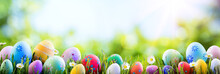 Easter - Colorful Decorated Eg...