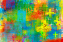 Abstract Artistic Christian Re...