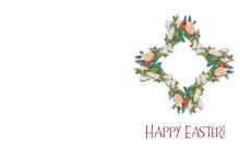 Happy Easter - Easter Resurrection Vintage Religious Background