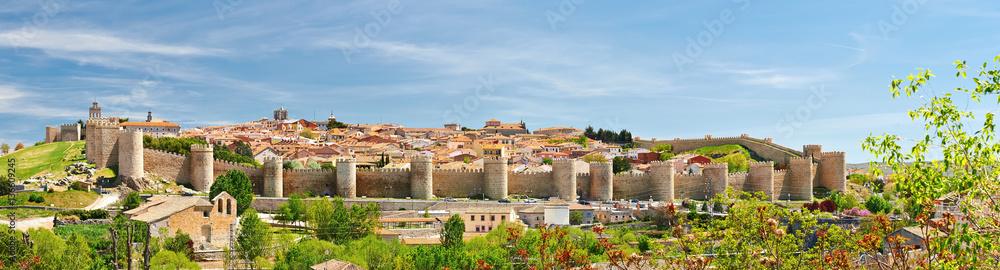 Fototapety, obrazy: The historic town of Avila