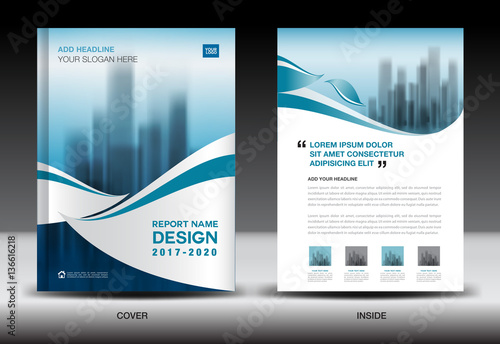 Annual report brochure flyer template blue cover design business annual report brochure flyer template blue cover design business newsletter book spiritdancerdesigns Image collections