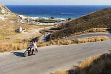 Riding Around Mykonos