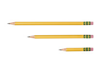 Isolated Yellow Pencil