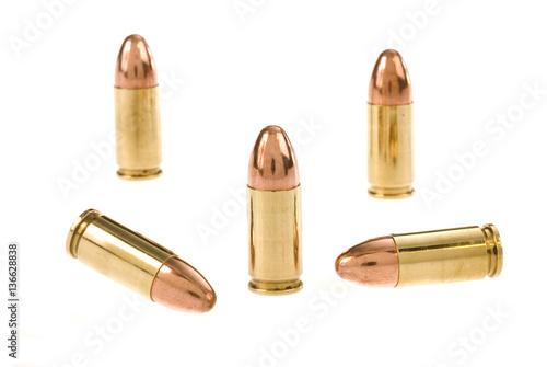 Obraz na płótnie Bullets