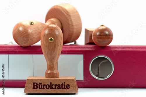 Fotografía  Bürokratie, Stempel, Amt