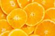 many orange backgrounds